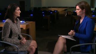 Download Watch Ambassador Nikki Haley's full interview Video
