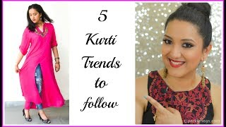 Download 5 Trendy Quirky Kurti trends to Follow Ft Voonik | Indian ethnic wear | Perkymegs Video