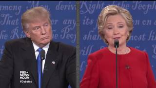 Download Will you accept the outcome of the election? Clinton and Trump answer Video