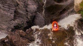 Download Riding a Walmart Raft off a 1000 ft. Waterfall Video