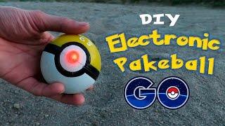 Download DIY Electronic Poke Ball - How To Make an Electronic PokeBall - Pokemon GO! Video