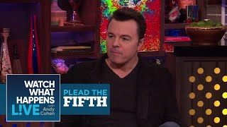 Download Seth MacFarlane Dishes On Christina Aguilera, Oscars, and Charlize Theron | Plead The Fifth | WWHL Video