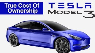 Download TESLA Model 3 TRUE Cost of Ownership Compared with a Honda Civic & BMW 3 Series Video