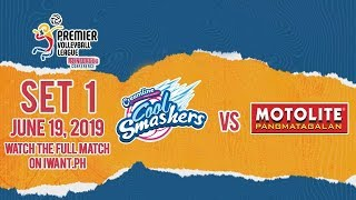 Download LIVE: Creamline vs. Motolite | Set 1 | June 19, 2019 #PVL2019 Video