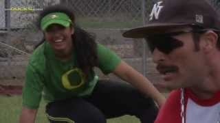 Download Domingo Ayala Visits Oregon Softball Video