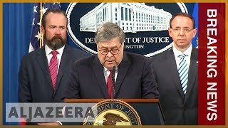 Download 🇺🇸 Redacted Mueller report released by US Justice Department   Al Jazeera English Video