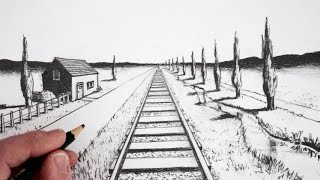 Download How To Draw Using 1-Point Perspective Video