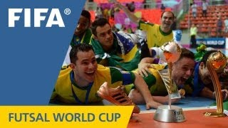 Download Brazil take epic futsal final in extra time thriller Video