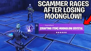 Download SCAMMER With MOONGLOW Crystal Scams Himself! (Scammer Gets Scammed) Fortnite Save The World Video