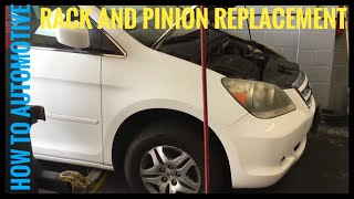 Download How to Replace the Rack and Pinion on a 2006 Honda Odyssey Video