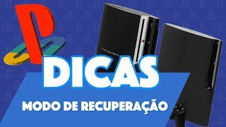 Download PS3 - MODO DE RECUPERAÇÃO / RECOVERY E RECONSTRUIR BASE DE DADOS Video