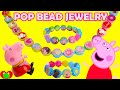 Download Peppa Pig Pop Bead Jewelry Kit with Surprises Video