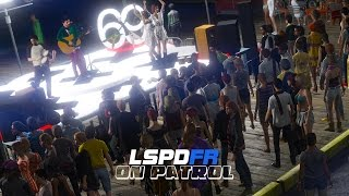 Download LSPDFR - Day 133 - Concert Security Video