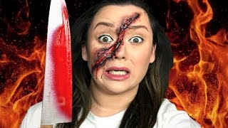 Download EXPERIMENT 1000 DEGREE KNIFE GONE WRONG!!!!! Makeup Tutorial Video