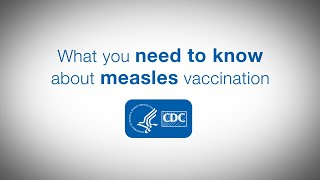Download What you need to know about measles vaccination Video