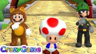 Download Mario Party 9 Garden Battle #41 Mario vs Luigi Gameplay (Master CPU ) Video