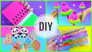 Download 4 DIY SCHOOL SUPPLIES | Back to school Video