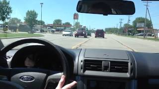 Download Pulling Into a Center Turn Lane & Turning Left Video