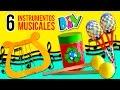 Download DIY Fabrica tus propios INSTRUMENTOS CASEROS ¡reciclando! * 🎸 6 MANUALIDADES FÁCILES para NIÑOS Video