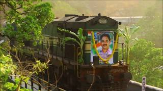 Download First Train Chugs After 8 Years | PUNALUR - SENGOTTAI | Kollam Special on Aryankavu Viaduct Video