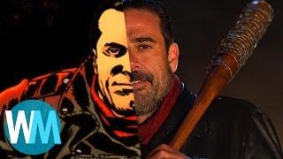 Download Walking Dead's Negan: Comic Book Origins Video