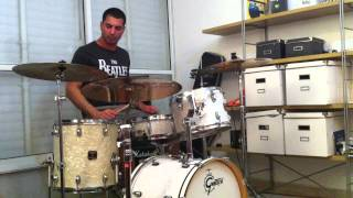 Download The Beatles - Rain (drum cover) original speed Video