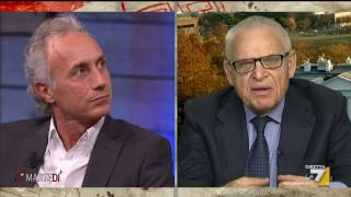 Download Travaglio - Zucconi - Bonafè - Luttwak / Di Martedì 22 nov 2016 Video