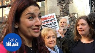 Download Labour MP Luciana Berger at court ahead of anti-semitism hearing - Daily Mail Video