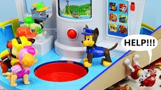 Download MARSHALL'S IN TROUBLE! Paw Patrol My Size Lookout Tower, Rescue Mission & Puzzle Toy Learning Video Video
