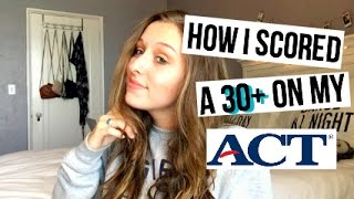 Download How I Scored a 30+ on My ACT I ACT Tips & Tricks Video