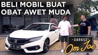Download REVIEW HONDA CIVIC TURBO | GARASI OM JOE Video