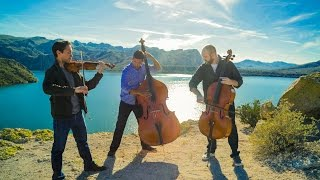 Download Wake Me Up - Avicii (violin/cello/bass cover) - Simply Three Video