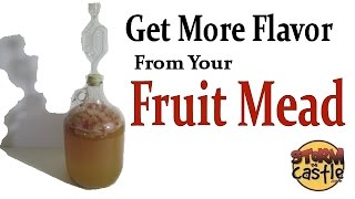 Download How to Get More Fruit Flavor when Making Mead Video