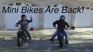 Download Minibike Takeover! Buildup & Ice Burnouts Video