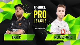 Download CS:GO - Fnatic vs. mousesports [Mirage] Map 3 - Grand Final - ESL Pro League Season 10 Finals Video