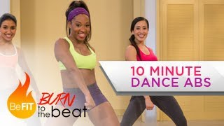 Download 10 Minute Cardio Dance Abs Workout: Burn to the Beat- Keaira LaShae Video