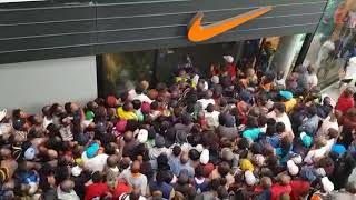 Download Black Friday in South Africa, stampede Nike store East Rand Mall Video