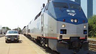 Download Amtrak 21 Texas Eagle (Chicago - Dallas) 8-22-2015 Onboard Footage Video