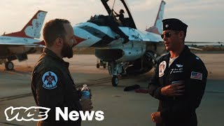 Download We Rode Shotgun In An F-16 With The Air Force's Elite Stunt Pilots Video