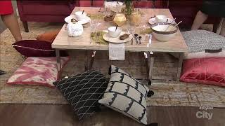Download 4 elements to create a chic floor-seating dining area Video