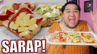 Download Gagawa tayo ng NO BAKE PIZZA (TASTY BREAD lang bes!) | Lutobaninat #6 Video