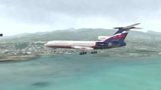 Download Tu-154M Tahiti Landing | X-Plane 11 Video