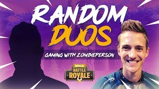 Download Random Duos - Ninja Matches The Coolest 7 Year Old!! - Fortnite Battle Royale Gameplay Video
