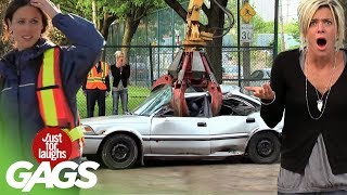 Download Crazy Car Pranks - Best Of Just For Laughs Gags Video
