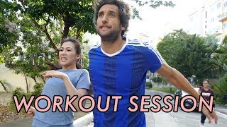 Download Workout with Bolzico by Alex Gonzaga Video