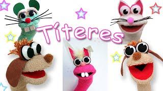 Download Como hacer Títeres de animalitos con calcetínes - Manualidades Para Todos Video