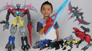 Download Power Rangers Movie Megazord Surprise Toys Hunt Building The Five Battle Zords With Ckn Toys Video