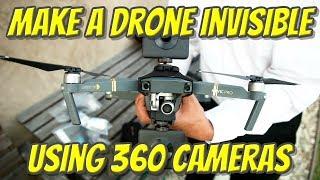 Download Make a drone INVISIBLE using almost any 360 camera (I used Xiaomi Mijia MI SPHERE 360 camera) Video