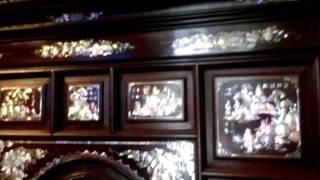 Download Đồ xưa,tủ thờ 13 chám, tủ ly gỗ trắc cẩn siêu đẹp. Liên hệ Vũ Trực 0909222785. Video