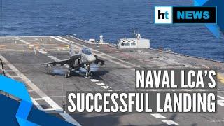 Download Watch: Naval LCA makes successful arrested landing on INS Vikramaditya Video